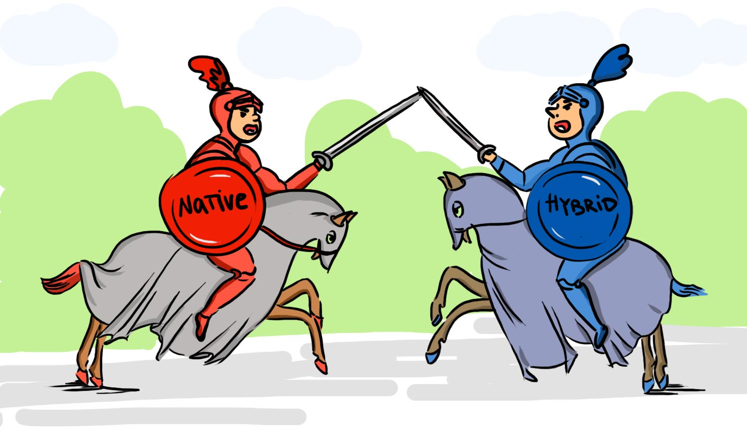 Native vs. Hybrid App