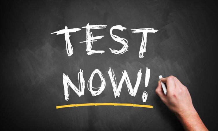test now audit